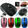 2.4GHz Wireless Cordless Mouse Mice Optical Scroll For PC Laptop Computer Cool