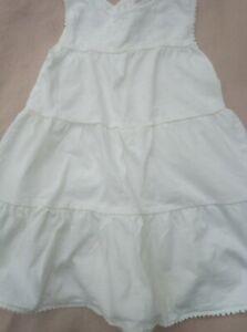 Girls White Dress Age 2-3 Years