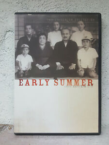 Early Summer DVD Criterion Collection + BOOKLET 1951 Japanese Movie ENGLISH SUBS