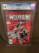 Wolverine #2 Cgc 9.8