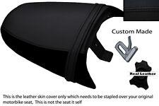 BLACK STITCH CUSTOM FITS TRIUMPH SPEED TRIPLE 97-01 955 i REAR SEAT COVER