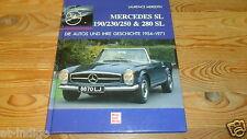 Mercedes Pagode W113 SL 230 * 250 & 280  Die Autos&ihre Geschichte W121 Typ 190