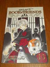 Natsume's Book of Friends Volume 13 Yuki Midorikawa (Paperback) 9781421549231