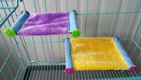 Hamster Hammock Bed Rat Mouse Squirrel Pet Cage House Hanging Nest Bed