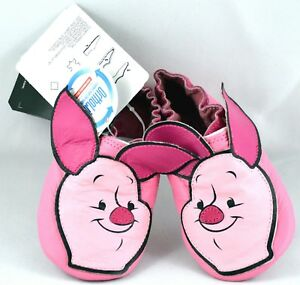 Adidas Disney Liladi 100 A-Piglet Winnie The Pooh soft crib shoe Size 2K NWT