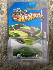 Hot Wheels 2013 Super Treasure Hunt #229 Green '07 Ford Mustang w/RR's