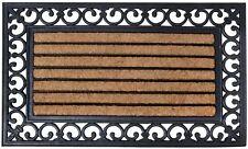 Esschert Design Paillasson Coco Caoutchouc 75 x 45 cm Campagne