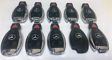 LOT of 10 MERCEDES BENZ MB CHROME SMART KEY keyless remote transmitter IYZDC11