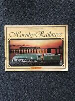 Hornby Model Railway Catalogue 1979 25th edition with price list