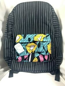 NEW OH MY DISNEY THE NIGHTMARE BEFORE CHRISTMAS JACK SALLY BACKPACK ZERO CHARM