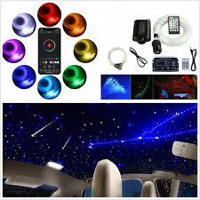 Car Headliner RGBW Twinkle Fiber Optic Star Ceiling Meteor Light Starry Sky Lamp