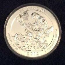 2012-P EL Yunque ATB 5 oz BU Silver Coin