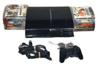 Sony Playstation 3(PS3) Bundle +10 Games - Backwards Compatible CECHA01 - TESTED