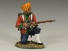"""King and Country SOE006G """"Ludhiana Sikhs Regiment Kneeling Ready"""" Gloss Soldier"""