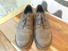 Rockport Brown Leather Oxfords Men's 9M Made in Portugual #1982