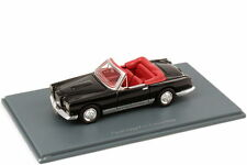 1:87 Facel Vega Fv1 Cabrio Convertible schwarz black - NEO Scale Models 87251