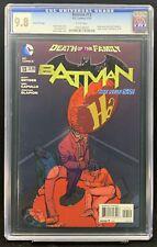 Batman #13 CGC 9.8 2nd Print - Very RARE - New 52 DC Comics Joker Balloon Cover