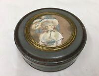 Antique Regency Papier Mâché Snuff Box circa 1815