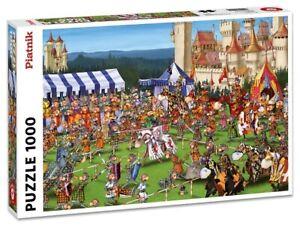 Piatnik 1000 Piece Jigsaw Puzzle - Ruyer: Knights Tournament