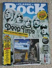 Classic Rock Magazine 208: Deep Purple, Motorhead, Jimmy Page + Mint CD