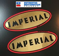 1959 1960 1961 1962 CHRYSLER DESOTO IMPERIAL VALVE COVER DECALS 59 60 61 62