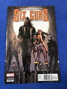 Six Guns 1 HTF High Grade Newsstand Price Variant Andy Diggle Marvel Comics 2011