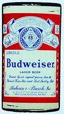 Original Vintage Budweiser Beer Can Peel-Top Iron On Transfer.