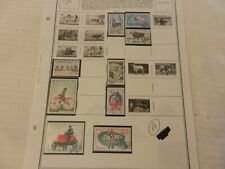 Lot of 9 Mali Stamps, Animals, Bicycle, Olympics & More