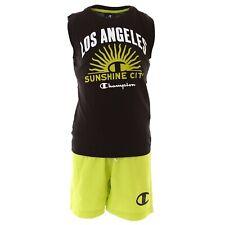 Champion Kids Boy Swimming Set Tshirt Short Beach Clothing Swimsuit 305279-KK001