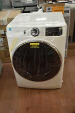 "Ge Gfd65Essnww 28"" White Vented 7.8 cu ft Front Load Steam Dryer #51600"