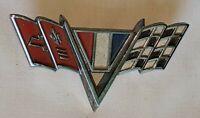 Vintage Chevrolet CORVETTE Camaro Chevelle Impalla Auto Badge Emblem 1963 1964 ?