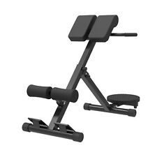Foldable AB/Hyper Back Bench Adjustable Extension Waist Exercise Roman Chair