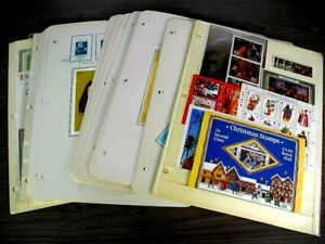 WW, Christmas, Excellent accumulation of MINT NH Souvenir Sheets of Stamps in
