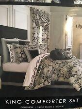 J. Queen New York Midnight Mist King Comforter Set. Brand New! $349.99 Tag!