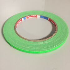 tesa 4671 NEON Klebeband Warnband Zellwollgewebe 5mm x 25m Neon-Grün