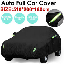 16.7ft Heavy Duty 420D SUV Car Cover Waterproof Snow Dust UV Resistant Protector