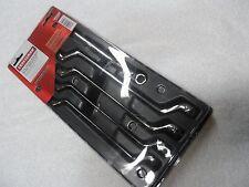 Craftsman Deep Offset Full Polish Metric MM Wrench Set, 5 pcs, 12 pt - p/n 44350