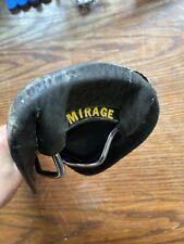 Vintage Viscount Mirage Bicycle Saddle Black (2067)