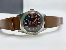 Vintage Jean richard Aquastar Geneve Diver Wristwatch Ref. 1701 Steel
