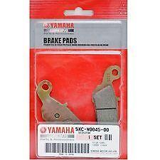 GENUINE YAMAHA BRAKE PADS - YZ125 / YZ250 / YZ250F / YZ450F - 5XC-W0045-00