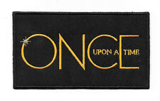 Once Upon A Time TV Series Logo Embroidered Patch NEW UNUSED
