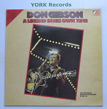 DON GIBSON - A Legend In His Own Time - Ex Con Double LP Record Cambra CR 063
