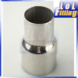 """2.25"""" inch OD To 2.5"""" inch OD Turbo Exhaust Reducer Connector Adapter Pipe"""