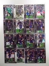Panini WCCF 2017-18Barcelona complete 16 cards set Messi Suarez Rakitic
