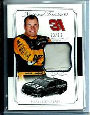 2016 National Treasures Ryan Newman Race Used Firesuit Materials D # 23/25