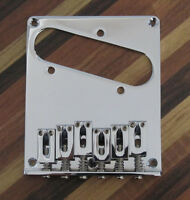 Tele Style Electric Guitar Bridge Single Coil Chrome Fits Telecaster