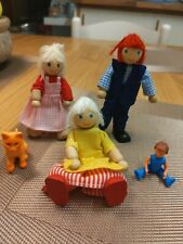 Wooden Dolls House People