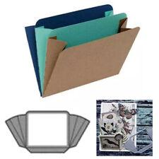 Accordion Pocket Metal Cutting Dies Stencil Scrapbook Embossing Paper Craft