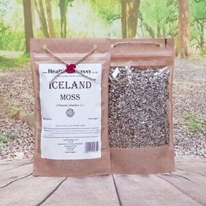 Iceland Moss (Cetraria islandica) - Health Embassy 100% Natural
