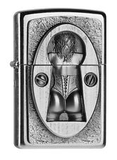 ZIPPO Keyhole Emblème 2003077 Street Chrome